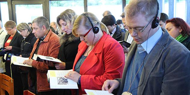 Europäisch-Ökumenischen Studienkurs ,© Anne Lüters