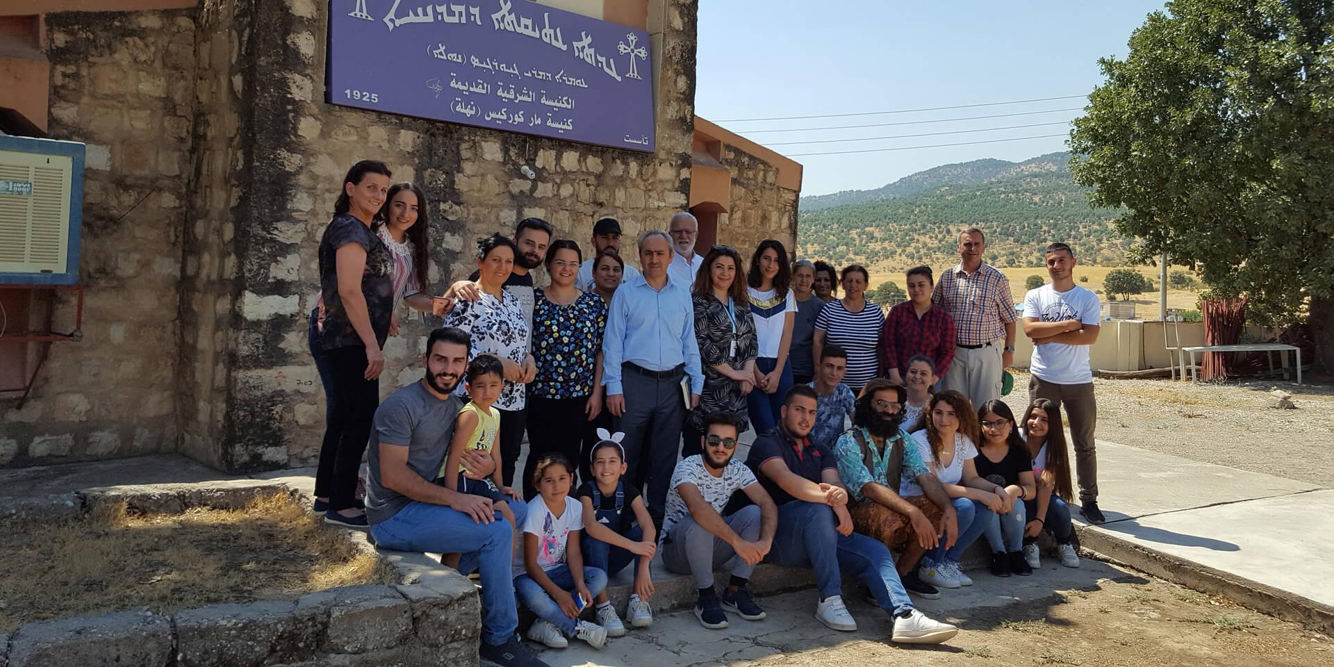 Junge Christen im Nahla Valley im Nordirak in den Bergen Kurdistans.