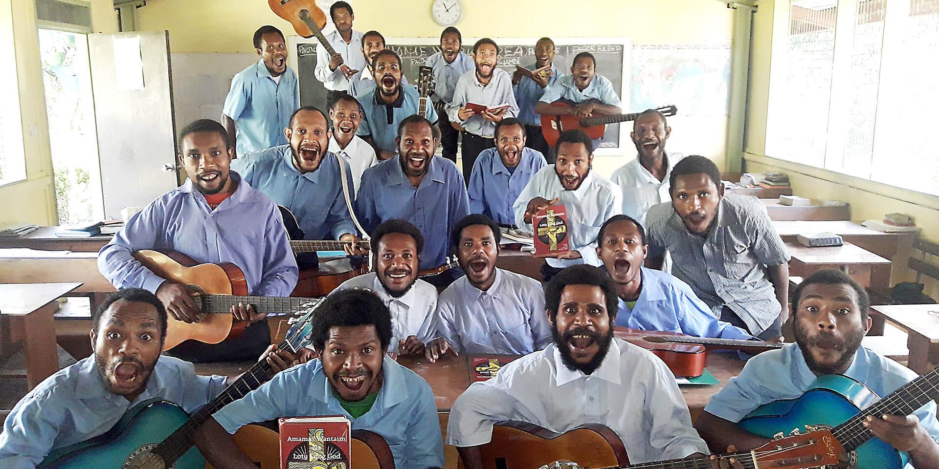 Chor in Papua-Neuguinea