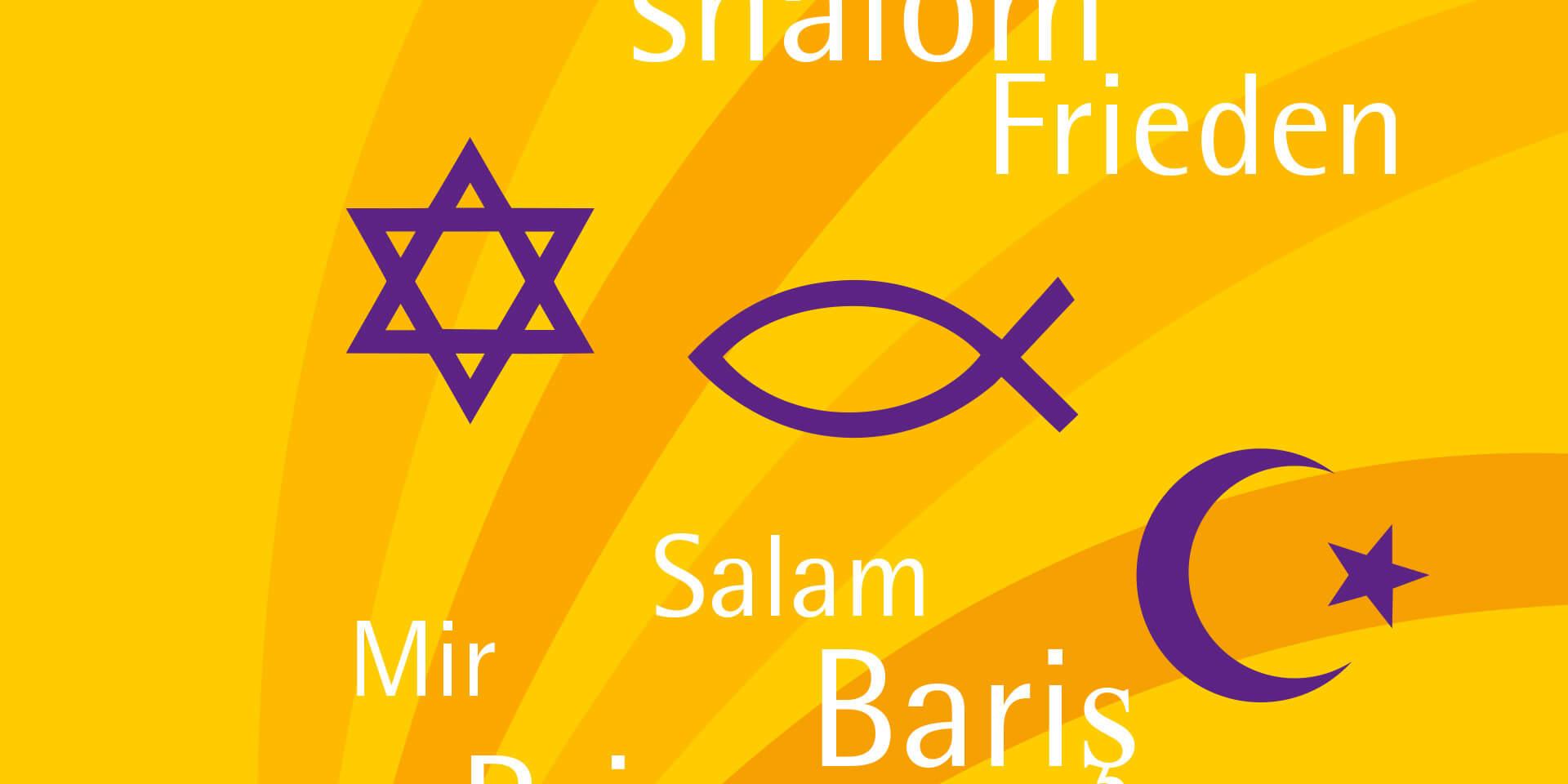 Cover der Konzeption des interreligiösen Dialogs der ELKB